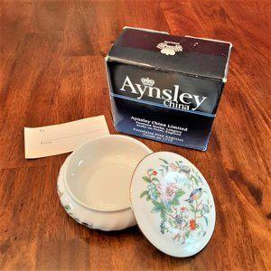 "Aynsley English Fine China Trinket Dish - 4"" Diam."